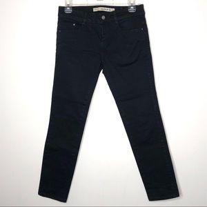 Zara Premium Wash Black Skinny Jean